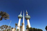 Kuwait, Kuwait City, Kuwait Towers Fine-Art Print