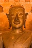 Buddha Images at Wat Si Saket, Vientiane, Laos Fine-Art Print