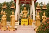 Buddha Image at Wat Si Saket, Laos Fine-Art Print