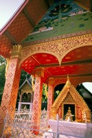 Sen Temple, Wat Sen, Luang Prabang, Laos Fine-Art Print