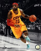 LeBron James 2014-15 Spotlight Action Fine-Art Print