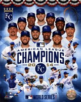 Kansas City Royals 2014 American League Champions Composite Fine-Art Print