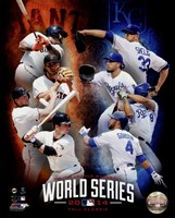 2014 MLB World Series Match Up Composite San Francisco Giants vs. Kansas City Royals Fine-Art Print