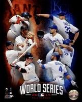 2014 MLB World Series Match Up Composite San Francisco Giants vs. Kansas City Royals Fine-Art Print