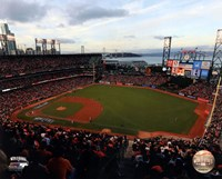AT&T Park Game 3 of the 2014 World Series Fine-Art Print