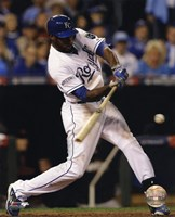 Lorenzo Cain Game 6 of the 2014 World Series Action Fine-Art Print