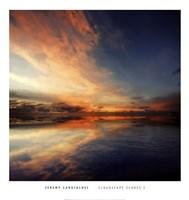 Cloudscape Echoes I Framed Print