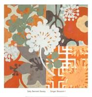 Ginger Blossom I Fine-Art Print