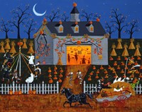 All Hallows Barn Dance Fine-Art Print
