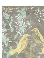 Pretty Birds I Fine-Art Print