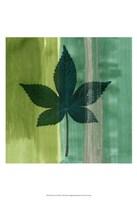 Silver Leaf Tile IV Fine-Art Print