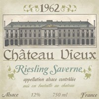 Vintage Wine Labels VII Fine-Art Print