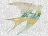 Patterned Bird II Fine-Art Print