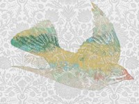 Patterned Bird III Fine-Art Print