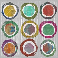 Jagged Circles I Fine-Art Print