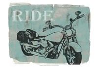 Motorcycle Ride I Fine-Art Print