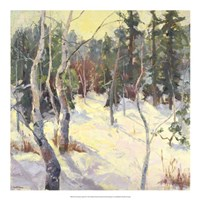 Four Seasons Aspens IV Fine-Art Print
