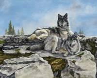 Mountain Morning Fine-Art Print
