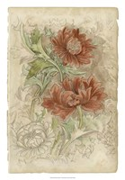 Floral Pattern Study I Fine-Art Print