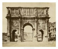 The Arch of Constantine Fine-Art Print