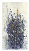 Indigo Floral I Fine-Art Print