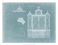Gothic Library Bookcase Fine-Art Print