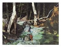 Fishing Retreat II Fine-Art Print