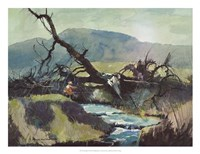 Fishing Retreat III Fine-Art Print