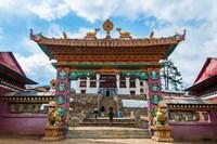 Entrance to Tengboche Monastery, Nepal. Fine-Art Print