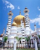 Malaysia, Peninsular Malaysia, Perak, Kuala Kangsar, Ubudiah Mosque Fine-Art Print