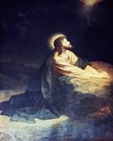 Christ in the Garden of Gethsemane Heinrich Hoffmann (1824-1911 German) Fine-Art Print