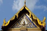 Royal Monastery of Emerald Buddha, Grand Palace, Wat Phra Keo, Bangkok, Thailand Fine-Art Print