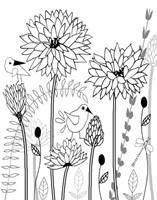 All-A-Flutter BW II Fine-Art Print