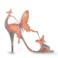 Butterfly Shoe Swirl Fine-Art Print