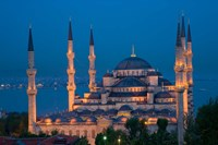 Blue Mosque, Istanbul, Turkey Fine-Art Print