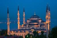 Blue Mosque, Istanbul, Turkey Fine-Art Print