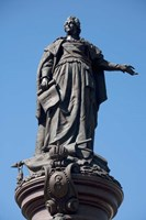 Statue of Catherine the Great, Odessa, Ukraine Fine-Art Print