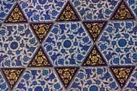 Tile Inside Topkapi Palace, Istanbul, Turkey Fine-Art Print