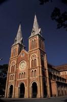 Notre Dame Cathedral, Saigon, Vietnam Fine-Art Print
