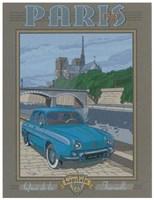 Paris 1963, Dauphine Fine-Art Print