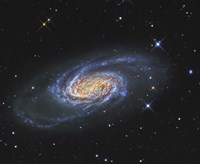 NGC 2903, A Barred Spiral Galaxy in the Constellation of Leo Fine-Art Print