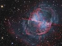 Close up of The Dumbbell Nebula Fine-Art Print