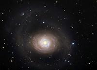 Messier 94, A Spiral Galaxy in the Constellation Canes Venatici Fine-Art Print