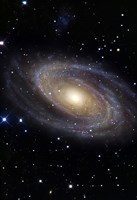 Messier 81, A Spiral Galaxy in the Constellation Ursa Major Fine-Art Print