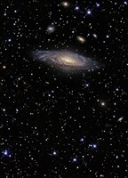 NGC 7331, A Spiral Galaxy in the Constellation Pegasus Fine-Art Print