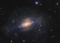 Spiral Galaxy in the Constellation Leo Fine-Art Print