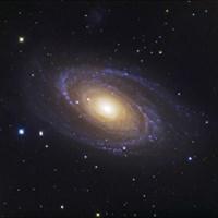 Bodes Galaxy, a Spiral Galaxy in Ursa Major Fine-Art Print