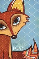 Oh Hello Foxy Fine-Art Print