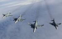 Formation of Luftwaffe F-4F Phantom II's Fine-Art Print