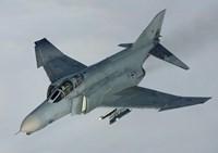 Luftwaffe F-4F Phantom II (from above) Fine-Art Print
